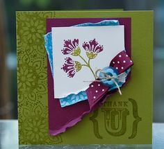 STAMPIN UP UK INDEPENDENT DEMONSTRATOR MONICA GALE: Stampin'Up! True Friend is retiring