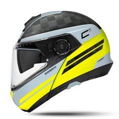 SCHUBERTH Bukósisak C4 PRO CARBON Tempest Yellow Bicycle Helmet, Yellow, Ebay, Grey Yellow, Full Face Helmets, Motorcycle Helmets, Waterfalls, Products, Cycling Helmet