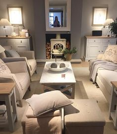 Visited the new Neptune store in Bath today. what can I say, so so beautiful! 🌿 I'll share some more photos tomorrow 💛 Apartment Living, Home, Snug Room, New Living Room, Living Room Scandinavian, Cottage Living Rooms, Cosy Living Room, Scandinavian Design Living Room, Living Room Designs