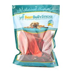 Premium Buffalo Ear Smoked Dog Treats by Best Bully Sticks (20 Pack) ** See this great product.
