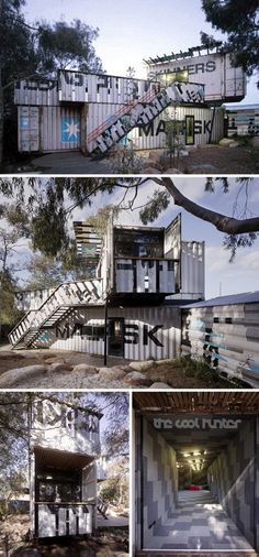Creative Shipping Container Playground Design @Dylan Monsma