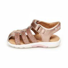 6d9055fb0 Stride Rite Toddler Girls SRTech Luna Sandals - Pink 4 Infant