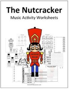 The Nutcracker | 13 Music Activity Worksheets (PDF) - https://bluebirdmusiclessons.wordpress.com/