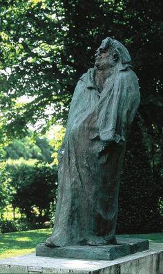 Monument to Balzac - Auguste Rodin - The Athenaeum Auguste Rodin, Musée Rodin, Alberto Giacometti, Alexander Calder, Modern Sculpture, Sculpture Art, Metal Sculptures, Abstract Sculpture, Bronze Sculpture