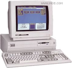 Tandy 1000 L - Picked up a few tricks using this one back in 87
