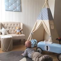 Teepee Tent boys room