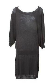 Max Azria Signature BCBG MAXAZRIA Black Tunic, Sweater Dress, Size S