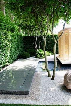 Image result for modern garden landscape no grass #GardeningLandscaping