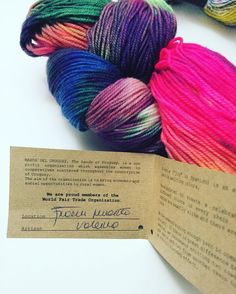 Going to wind this beautiful @manosdeluruguay yarn up. I've been following them for over a year. They are a great company that supports women all over Uraguay!! Good yarn and a good cause and message  #instacrochet #crocheting #crochet #crafts #crafty #knit #knits #knitting #knittersofinstagram #diy by 1001knits