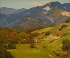 Outside Santa Barbara by Brian Blood - Oil