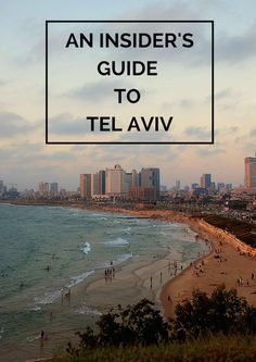 Today's travel guide is an insider's guide to Tel Aviv in Israel. Check it out if you're looking for the best places to eat and things to do in Tel Aviv. Places To Travel, Places To See, Travel Destinations, Voyage Israel, Tel Aviv Israel, Visit Israel, Israel Travel, Israel Trip, Future Travel