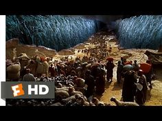 Moses Parts the Sea - The Ten Commandments (6/10) Movie CLIP (1956) HD - YouTube