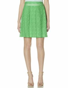 Floral Overlay Pleated Skirt from THELIMITED.com #TheLimited #LTDWellSuited
