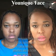 Younique before and after