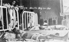 Dead body of Pancho VIlla Pancho Villa, Funeral Photography, Vintage Photography, Old Pictures, Old Photos, Mexican Revolution, Rare Images, Freedom Fighters, Chicano