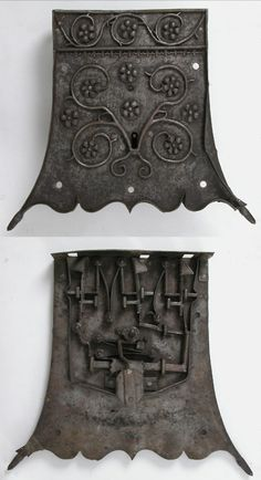 Lock, made in Germany (early 16th century). Iron, 37 x 41.8 x 8.6 cm. via the Met, NYC Under Lock And Key, Key Lock, Door Knobs And Knockers, Safe Lock, Old Keys, Antique Keys, Iron Work, Door Furniture, Door Locks