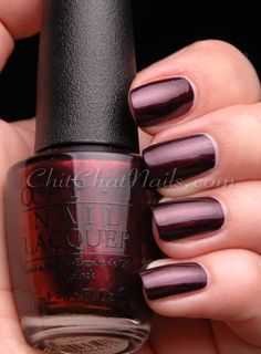 """Every Month is Oktoberfest"" from the NEW #OPI Germany Collection for Fall/Winter 2012 #nails -dark, rich tone"