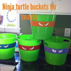 Ninja turtle bday party