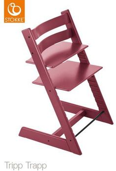 The best highchair for babies I am in Love with this Stokke Tripp Trapp Heather pink highchair for babies. We bought the same and we absolutely love it. #ad