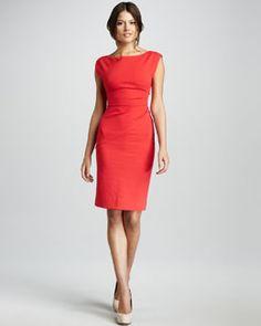 Diane von Furstenberg Jori Cap-Sleeve Dress
