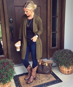 43 Totally Inspiring Womens Cardigan Outfits Ideas For This Spring Cowboy Boot Outfits, Winter Boots Outfits, Country Winter Outfits, Fall Boots, Cowboy Outfits For Women, Women's Boots, Ankle Boots, Cowgirl Dresses With Boots, Snow Boots