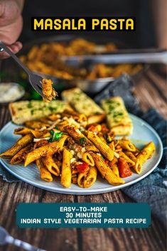 Lunch Recipes, Great Recipes, Vegetarian Recipes, Dinner Recipes, Favorite Recipes, Healthy Recipes, Pasta Indian Style Recipe, Pasta Recipes Indian, Enchiladas