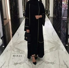 Find images and videos about hijab and abaya on We Heart It - the app to get lost in what you love. Hijab Fashion 2016, Modern Hijab Fashion, Islamic Fashion, Abaya Fashion, Muslim Fashion, Fashion 2020, Modest Fashion, Fashion Outfits, Hijab Outfit
