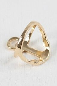 Anchor Gal Ring