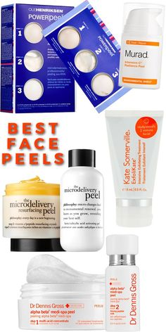Exfoliate Your Way to Younger Looking Skin with the Best Peels in the Beauty Business