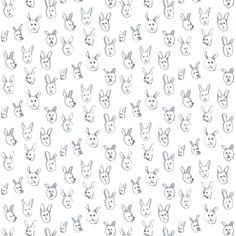 Cute Animal Heads - imaginaryanimal - Spoonflower
