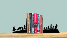 Lord of the Rings bookends by StoryHolders on Etsy