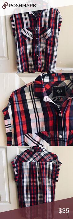 Rails Plaid Flannel Top Size xs Rails Tops Button Down Shirts