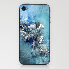 """Desire""   iPhone & iPod Skin by Chao-Yi Chung"