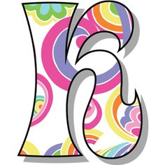 SGBlogosfera. María José Argüeso: HIPPIE Alphabet Templates, Alphabet Art, Letter Art, Bubble Letter K, Scrapbook Letters, Origami Paper Art, Paper Quilling, Stylish Alphabets, New Project Ideas