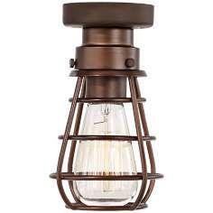 bendlin industrial 1light bronze ceiling fan light kit