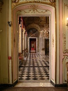 Secret passages.....  The Palazzo Reale (Royal Palace) or Palazzo