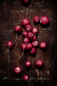 Radishes - perfect for salads. I've even tried adding them to thicken the gravy for pasta