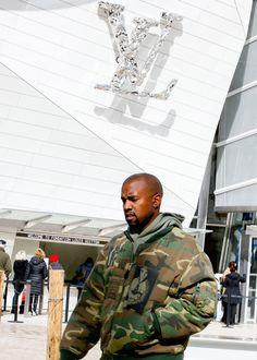 "inkimyewetrust: ""The Louis Vuitton Don "" Kanye West Yeezus, Boy Fashion, Mens Fashion, Street Fashion, Winter Fashion, Kanye West Style, Quiet Confidence, Men's Fashion Styles"