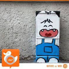 STREET ART MILANESE  Il capoluogo lombardo si tinge di colore grazie a celebri personaggi di cartoni animati e fumetti. L'autore è un altrettanto famoso artista, Pao, che ama contrastare il grigiore cittadino con le sue giocose opere.  http://shots.it/news_item.php?news_id=93&id=11&lang=it