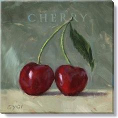 Gallery Wrap on Wood Frame ~ Cherry