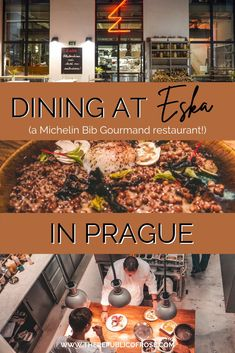 Have you eaten at Eska in Prague? If not, add this Michelin Bib Gourmand restaurant to your list! Eska has delicious food and a trendy ambience.