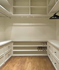 This is a nice layout. He likes drawers for t-shirt, socks, etc. He tends to stack jeans, rather than hang them. He also needs hooks in his closet for hoodies, etc. and a place for a laundry basket. His closet will also house some electronics, so we need to leave space around the outlet for that.