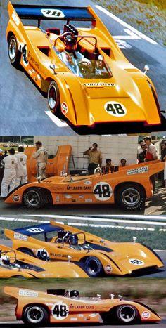Dan Gurney - McLaren M8D Chevrolet - McLaren Cars Ltd. -  Canadian-American Challenge Cup 1970