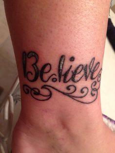 My half marathon tattoo