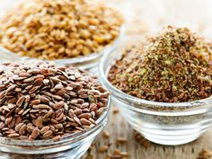 Ground Flax Seeds : As convenient as it sounds to keep it next to the cereal, ground flax should actually be frozen to maintain its healthful properties. After one month, however, the quality will diminish, so don't store or grind too much at once.  Photo:Elenathewise/iStock