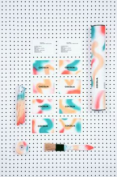 IDENTITY COCOLIA on Behance #design #graphic #logo #colors #identity #barcelona #cocolia #cards
