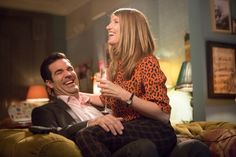 Catastrophe, starring Rob Delaney and Sharon Horgan, is a romantic comedy that wisely lets its lead characters consider each other deeply and enchantingly funny. Sharon Horgan, Funny Sports Pictures, Funny Photos, Best Tv Shows, Movies And Tv Shows, Minions Funny Images, Minions Quotes, Funny Minion, Funny Jokes