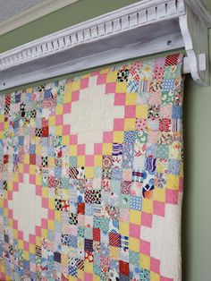 cottage style guest room.  Itsy bits and pieces blog