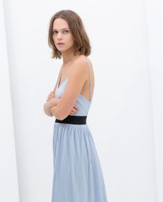 Image 3 of CONTRAST DRESS from Zara