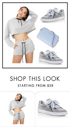 """""""Untitled #1"""" by lisoderys ❤ liked on Polyvore featuring Emory Park, Puma and Michael Kors"""